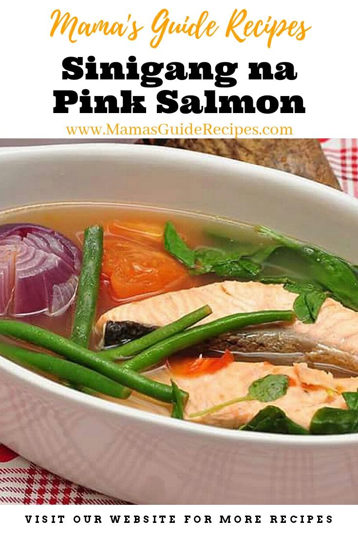 Sinigang Na Pink Salmon Mama S Guide Recipes
