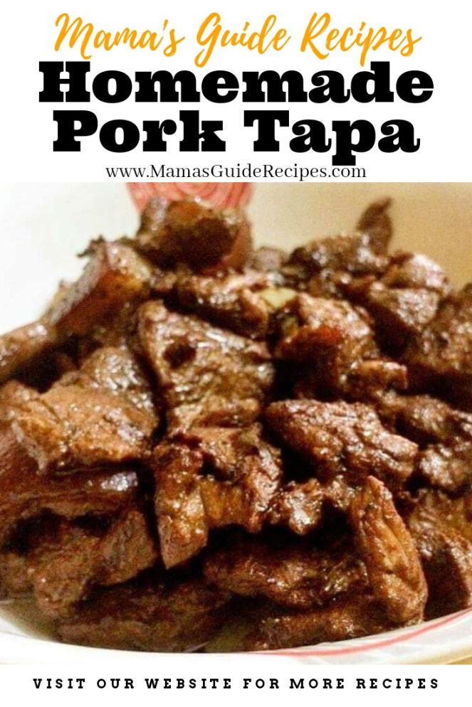 Homemade Pork Tapa