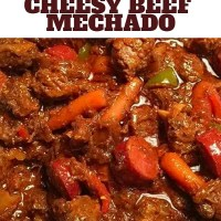 Cheesy Beef Mechado Recipe