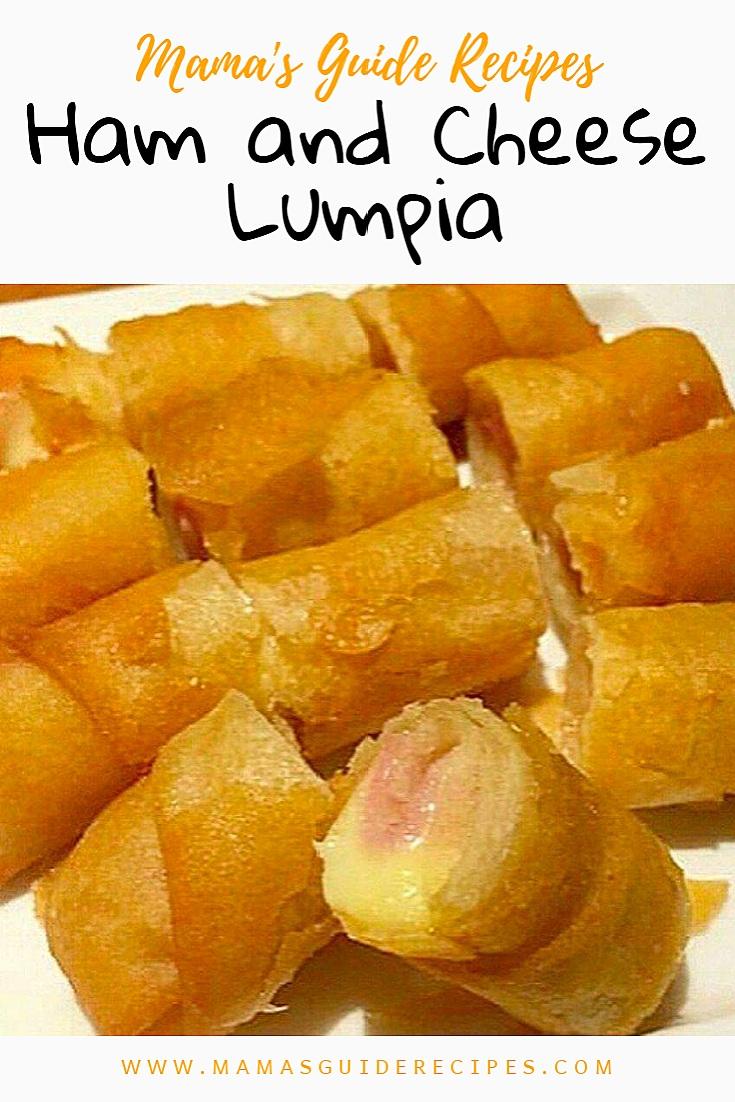 Ham and Cheese Lumpia