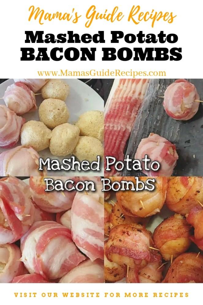 Mashed Potato Bacon Bombs