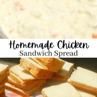 Homemade Chicken Sandwich Spread