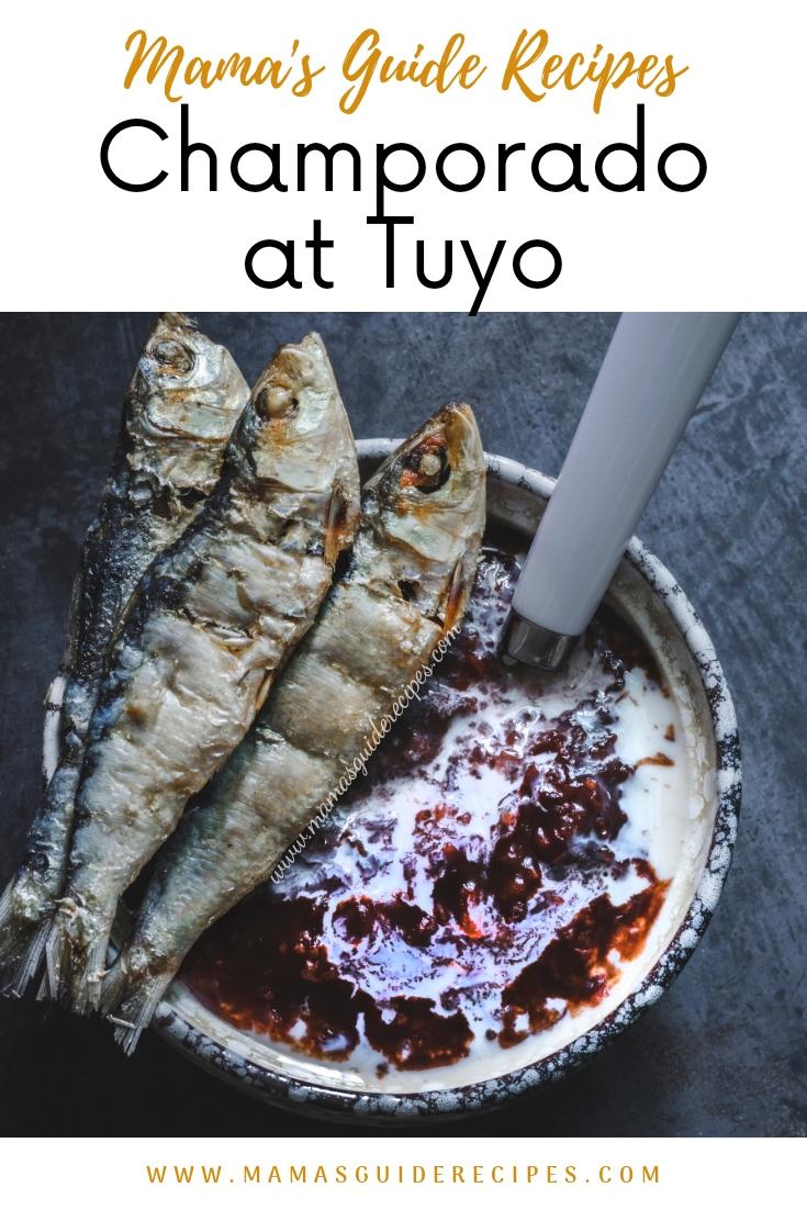 Champorado at Tuyo