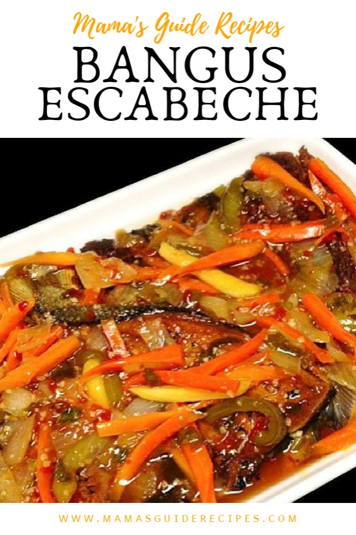 Bangus Escabeche, Escabecheng Isda, Sweet and Sour Bangus