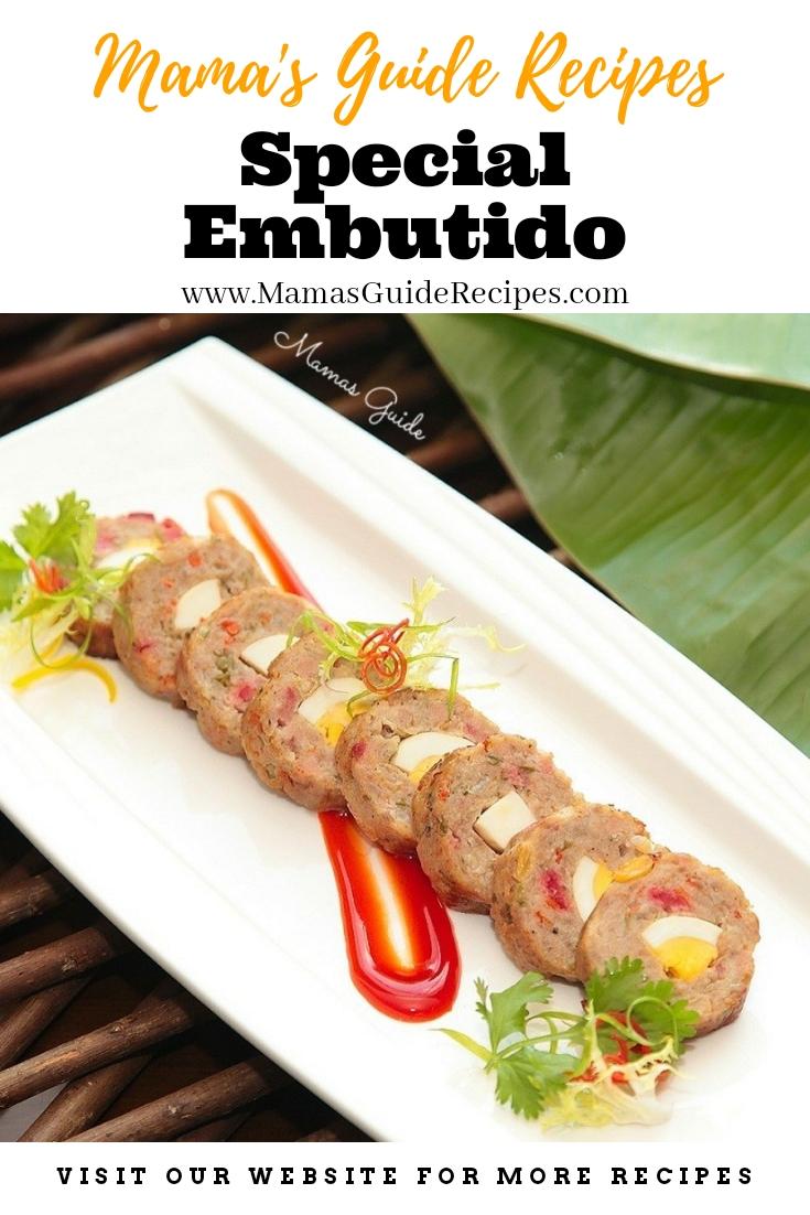 Special Embutido Recipe