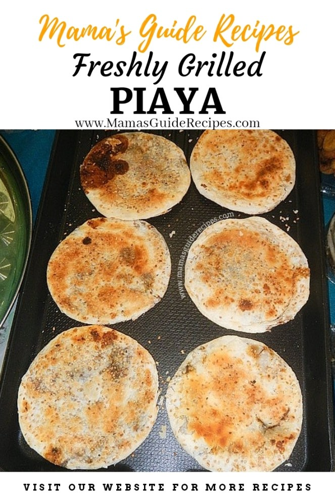 Freshly Grilled Piaya Recipe