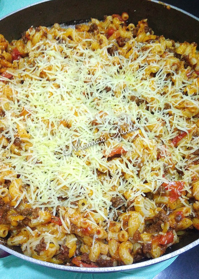 Cheesy Hamburger Casserole