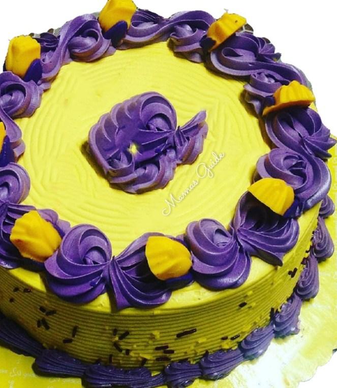 Quezo Ube Cake ala Goldilocks