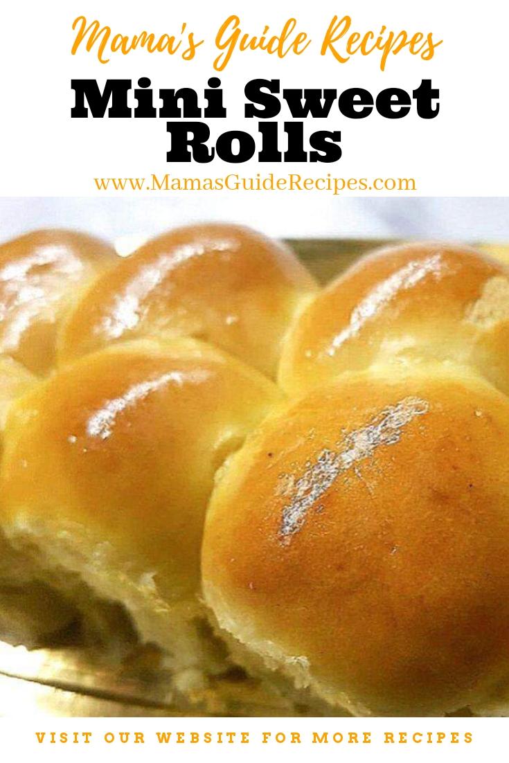 Mini Sweet Rolls
