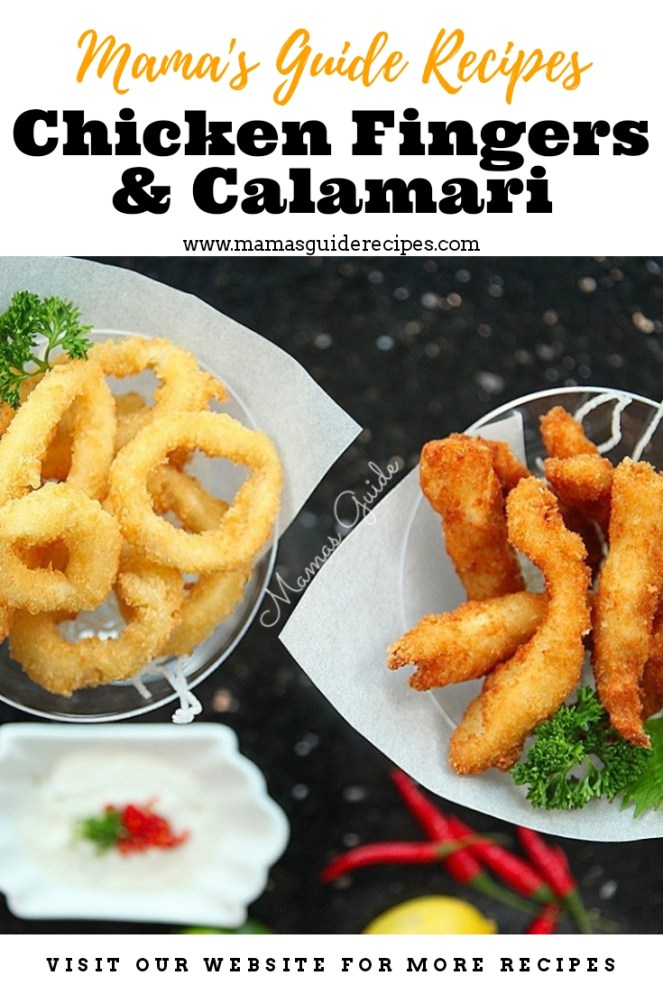 Chicken Fingers and Calamari Recipe