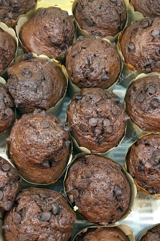 Chocolate Chip Muffins with Condensed Milk