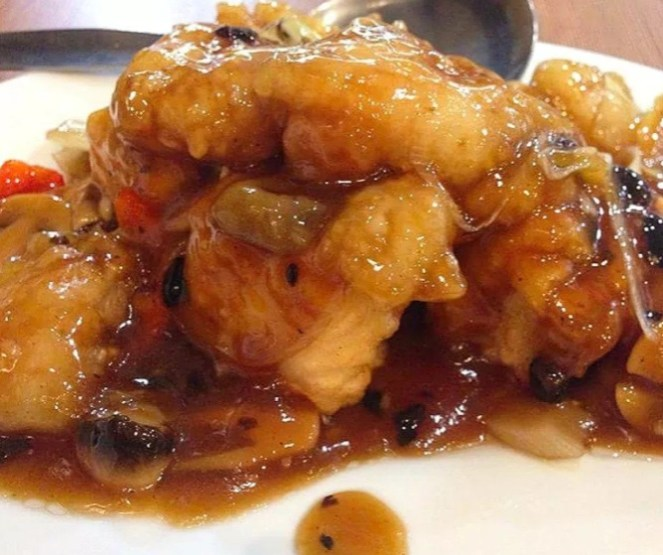 Fish Fillet with Tokwa In Tausi Sauce (Chinese style)