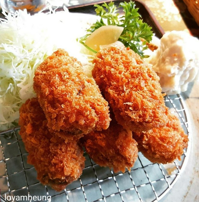 Japanese Kaki Fry (Deep Fried Oyster)