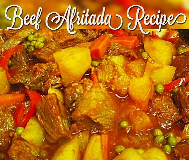 Beef Afritada Recipe