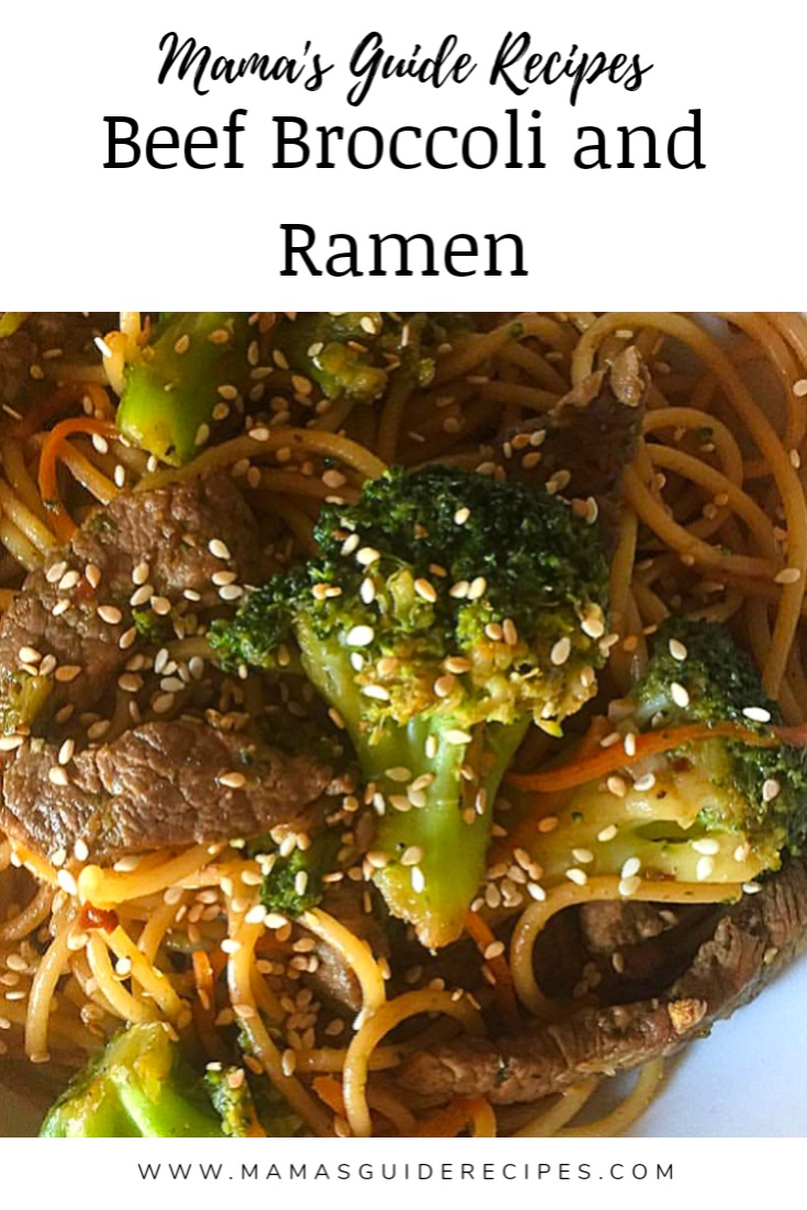 Beef and Broccoli Ramen Recipe