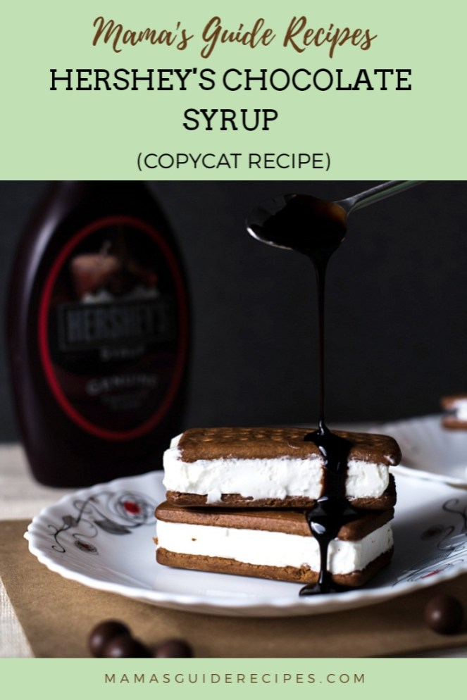 Hershey's Chocolate Syrup Copycat