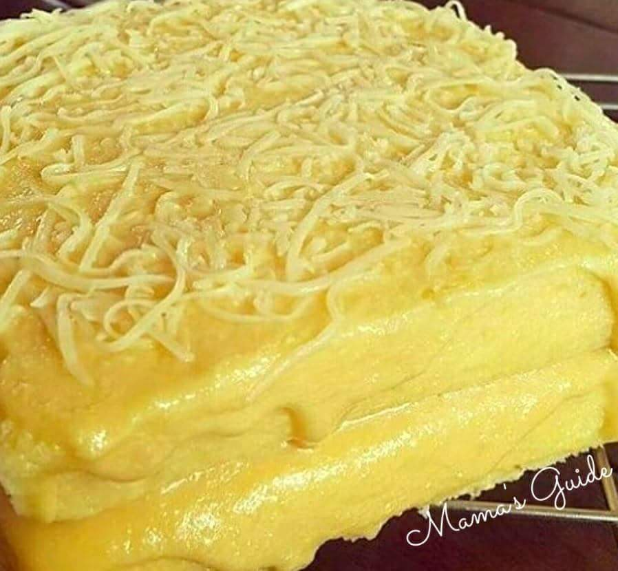 Yema Cake Recipe using cake flour, no bake yema cake, how to make a yema cake