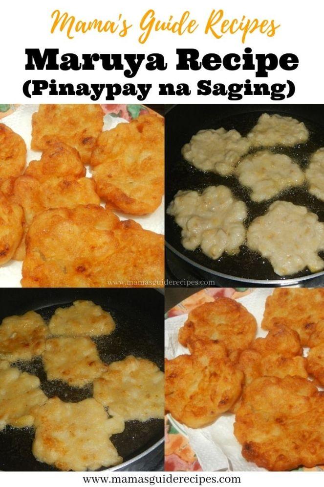 Maruya Recipe