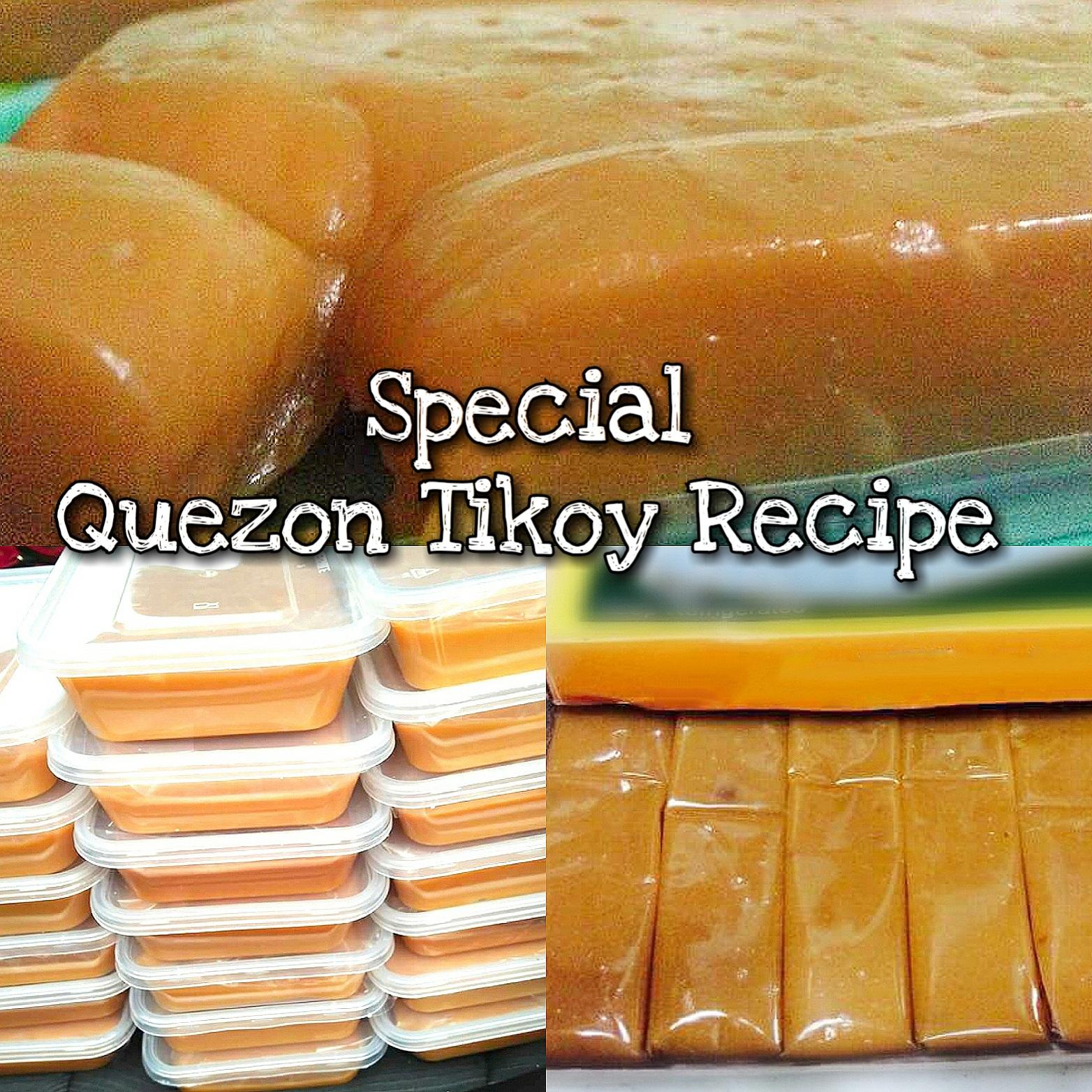 Special Quezon Tikoy Recipe