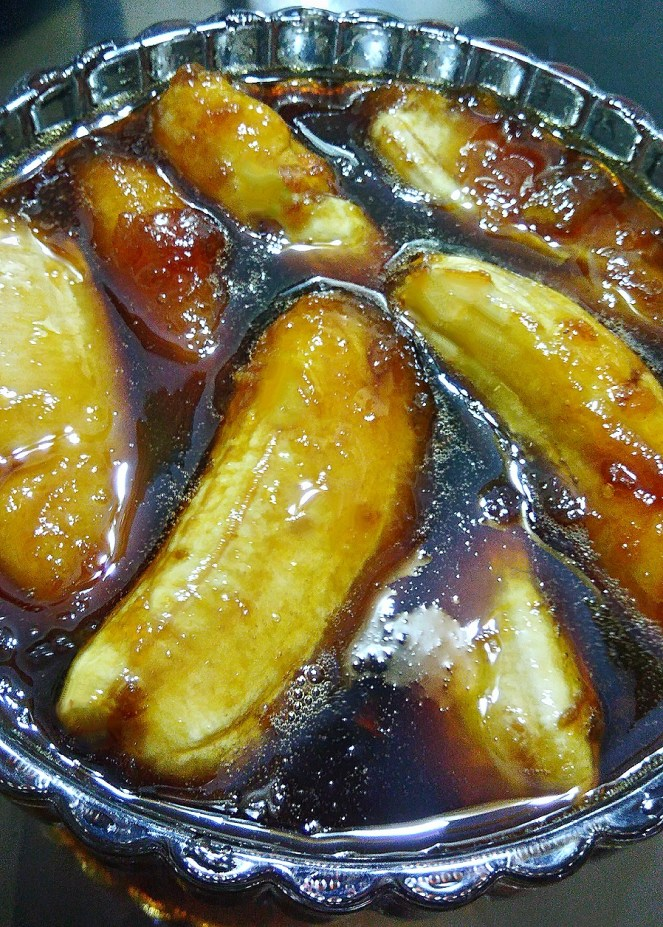 How do you make sweet bananas, sweet plantains recipe, banana plantains dessert, banana recipes, easy delicious plantains dessert, minatamis na saging, saging na saba, minatamis na saging na saba