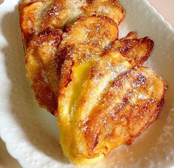 Pinaypay, maruya, banana fritters, saging na saba