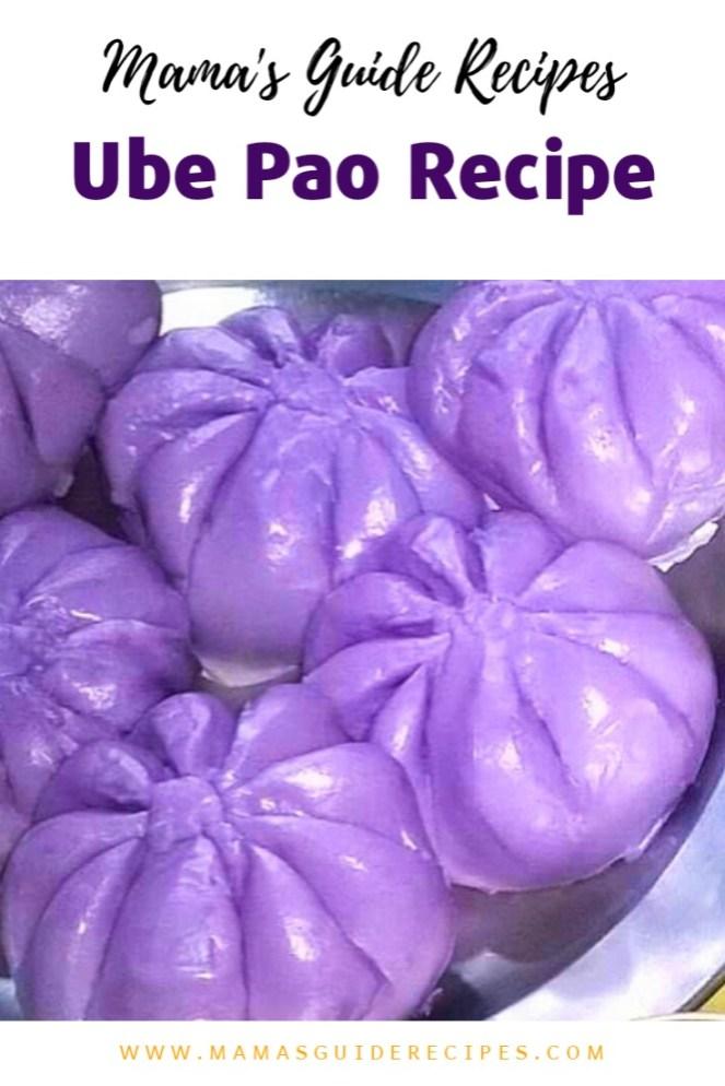Ube Pao Recipe