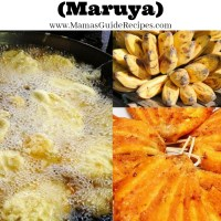 Maruya Recipe (Pinaypay na Saging)