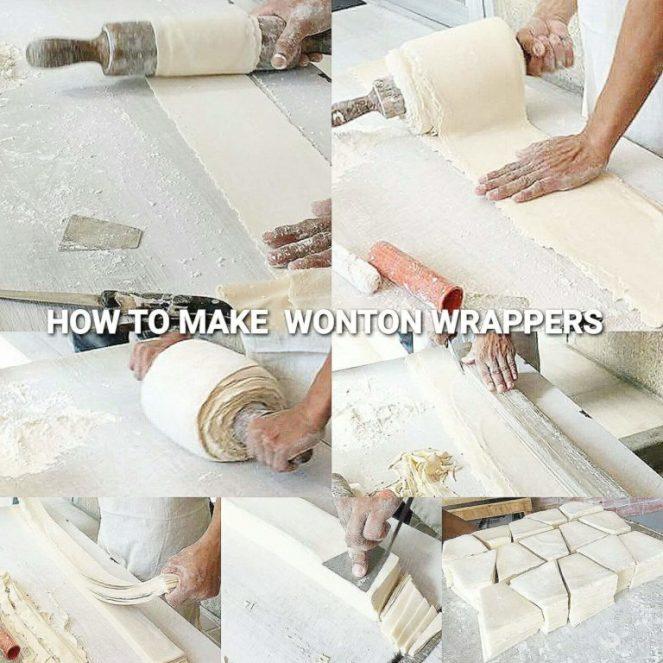 HOW TO MAKE MOLO OR WONTON WRAPPER