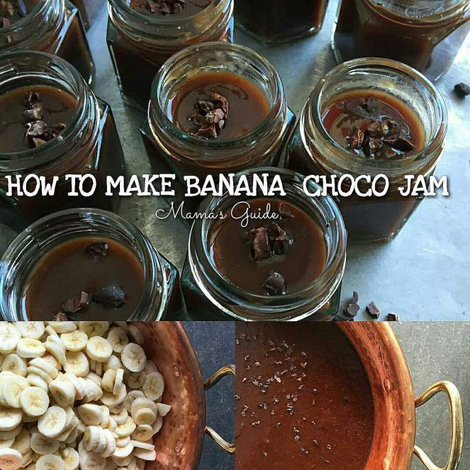 Banana Choco Jam Recipe