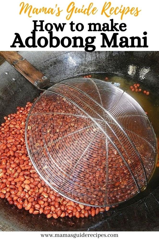 Adobong Mani Recipe
