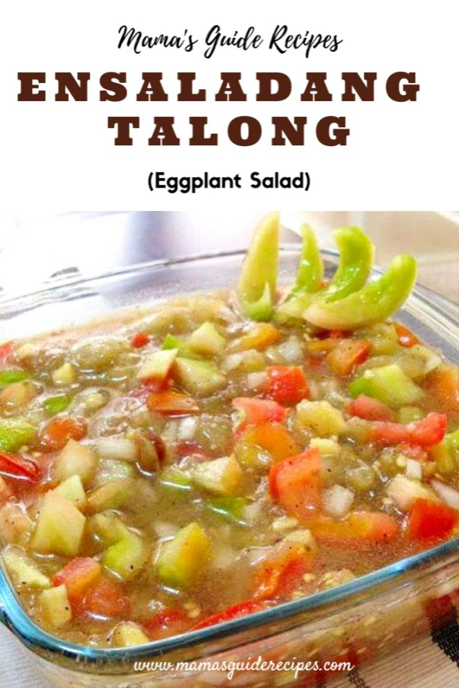 Ensaladang Talong (Eggplant Salad)