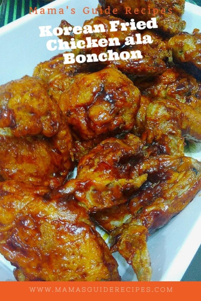 Korean Fried Chicken ala Bonchon
