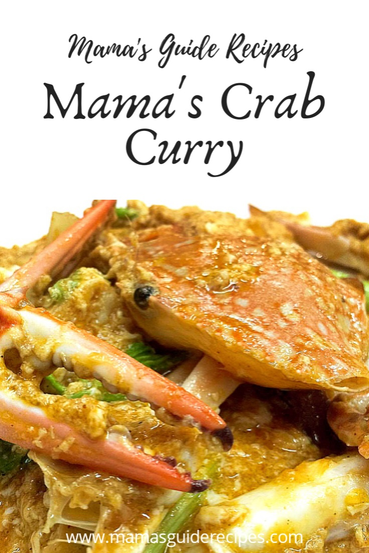 Mama's Crab Curry