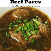 How to Cook Beef Pares
