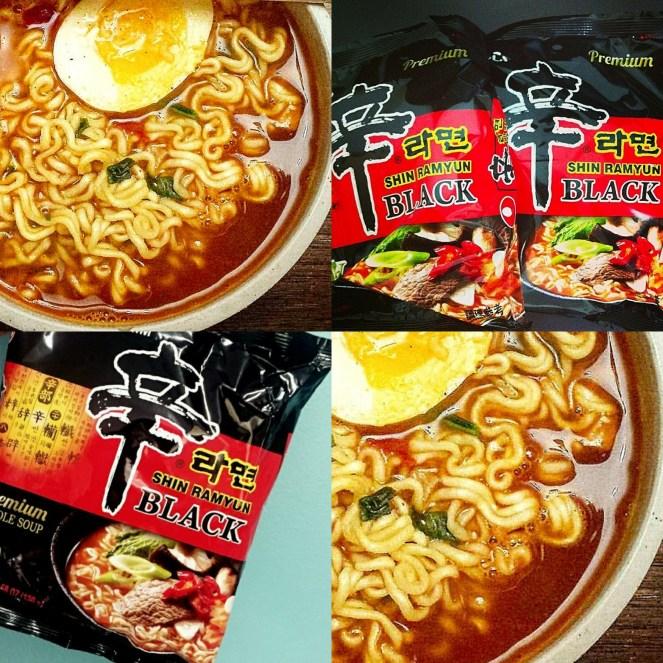 Nongshim Shin Ramyeon Black Premium Noodle Soup