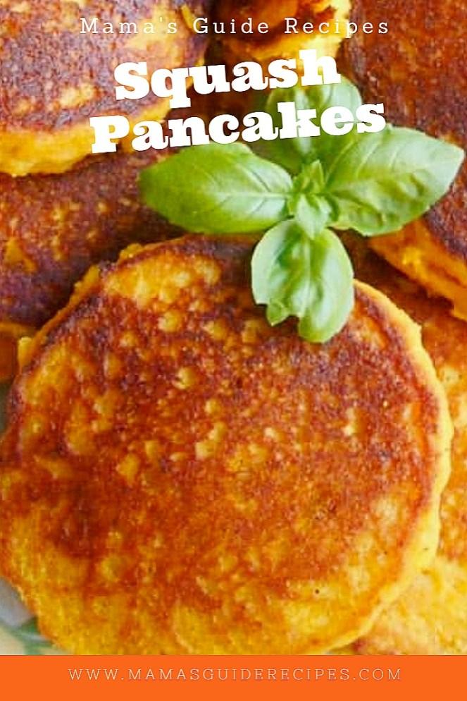 Squash Pancakes, pumpkin pancakes recipe