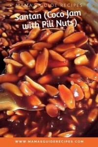 Santan (Coco Jam eith Pili Nuts)