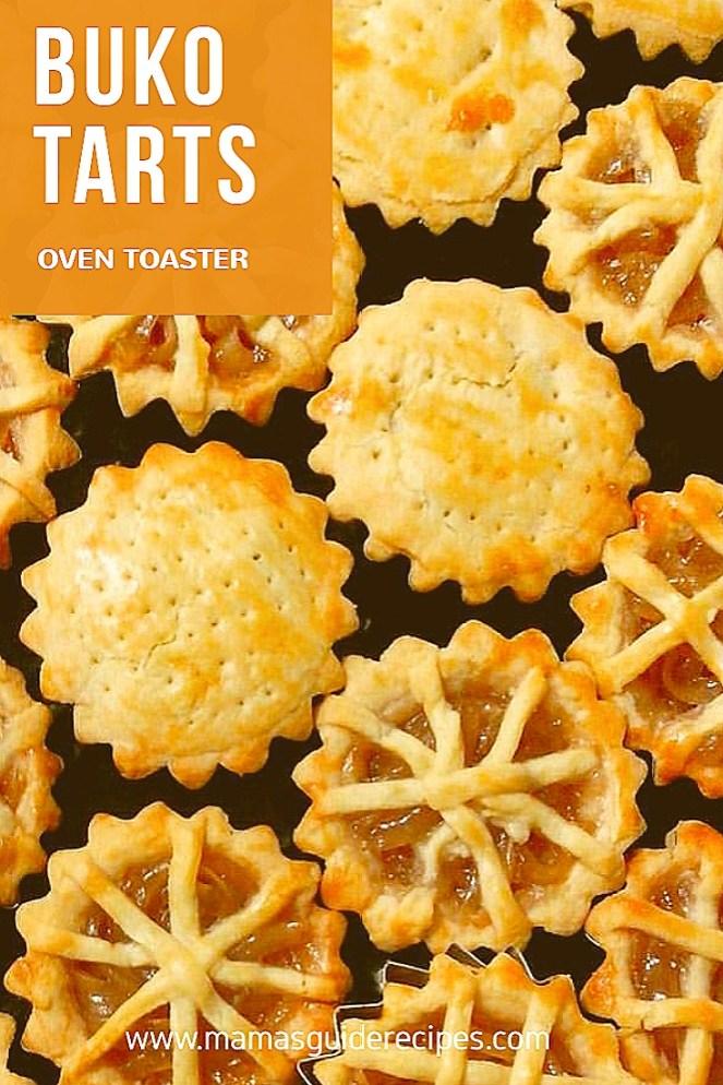 Coconut pie, coconut tarts, mini pie, buko tart, buco tarts recipe, paano gumawa ng buko tart, buko tarts using oven toaster