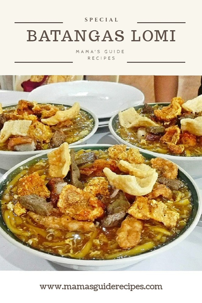 Batangas Lomi, Batangas Lomi Special