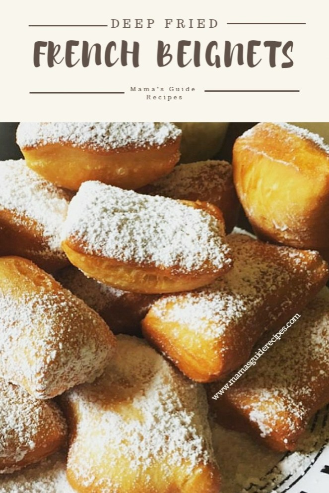 French Beignet Recipe