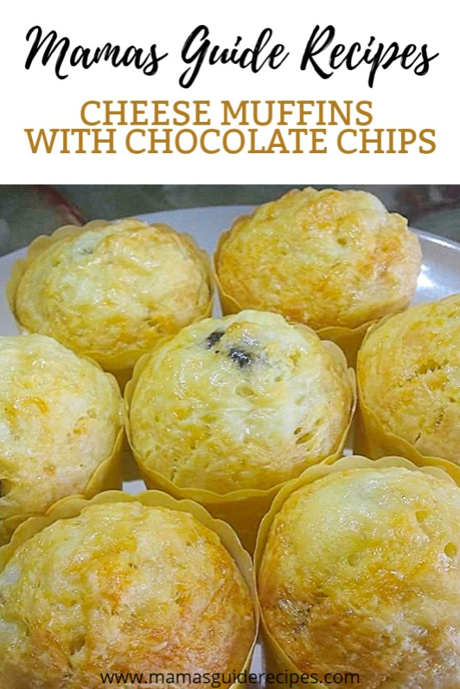 Cheese Muffins with Chocolate Chips