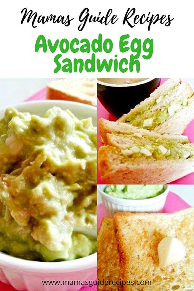 Avocado egg Sandwich recipe