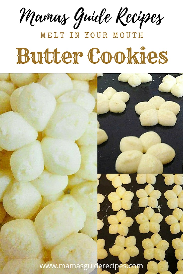 Butter cookies (Melt in your mouth)