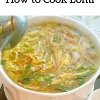 How to Cook Lomi-Soup