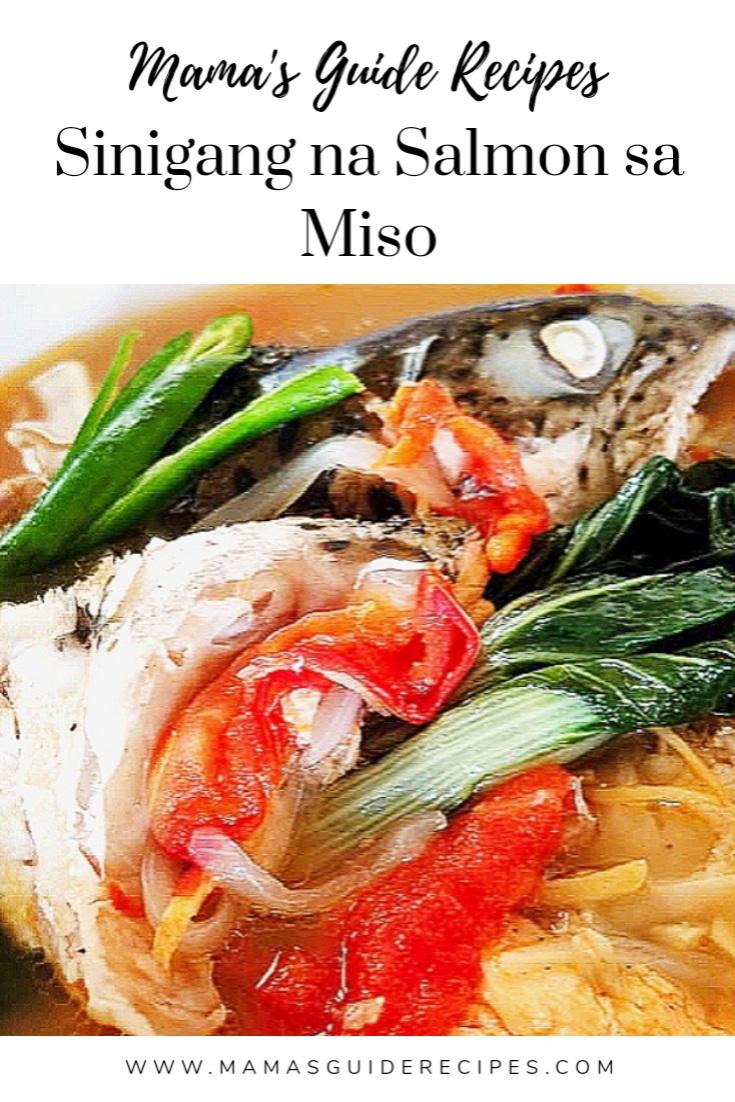 Sinigang Na Salmon Sa Miso Mama S Guide Recipes