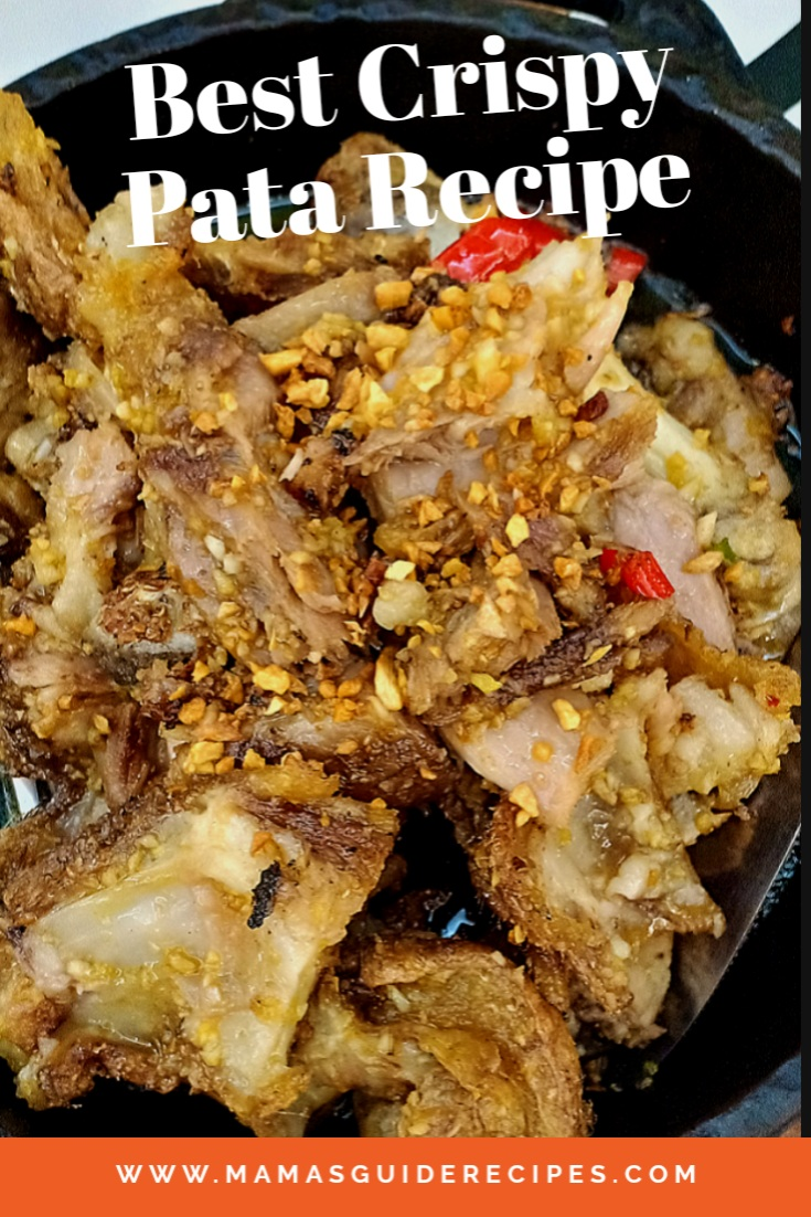 Best Crispy Pata Recipe