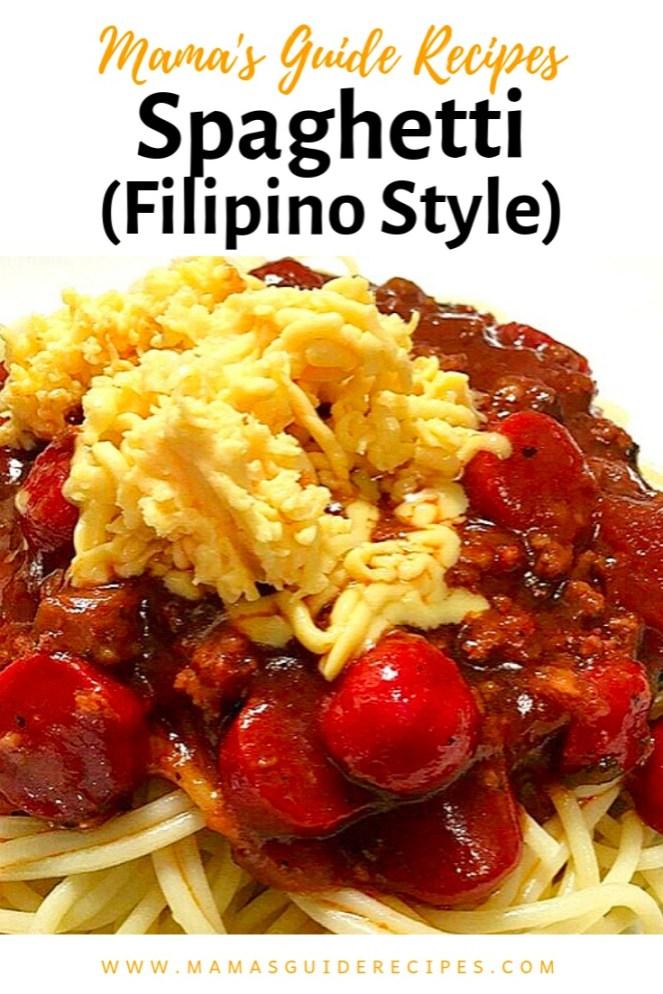 Spaghetti (Filipino Style)