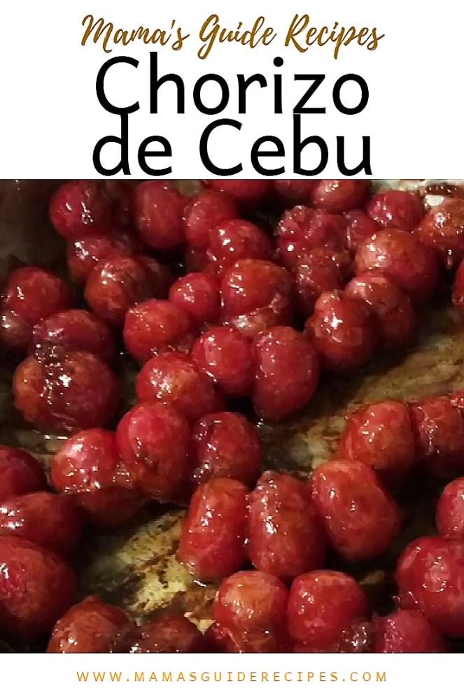 Chorizo de Cebu
