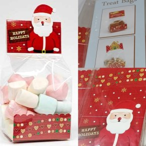 Santa Treat Bags 20's Medium Size
