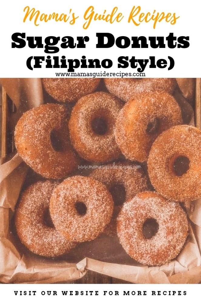Sugar Donuts (Filipino Style)